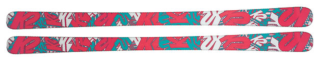 Terrain skis