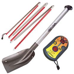 Probe, shovel, beacon