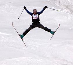 skiing trick