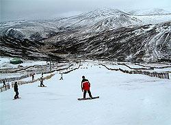 Scotland ski area