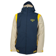 686 mannual varsity insulated skiing jacket